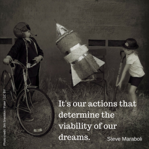 It's our actions that determine the